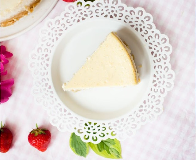 5 Ingredient Keto Low Carb Cheesecake #lowcarb #recipes