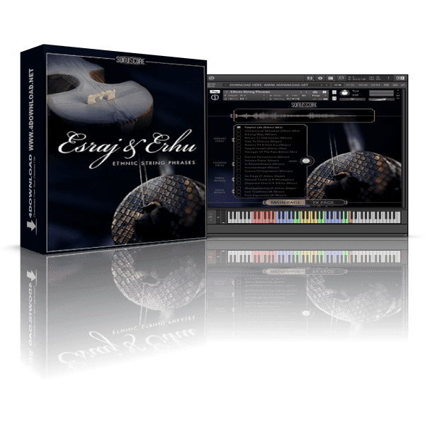 Esraj & Erhu - Ethnic String Phrases KONTAKT Library