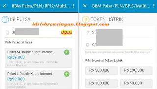 Cara Membeli Pulsa dan Token PLN di BBM