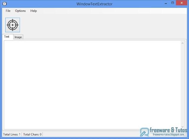 WindowTextExtractor : un logiciel portable pour récupérer facilement le texte de n'importe quelle fenêtre Windows ou de logiciel