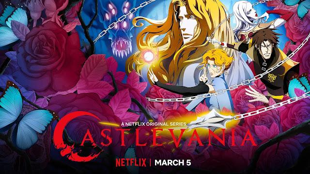 Poster de Castelvania serie de Netflix