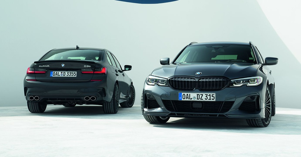 BMW Alpina D3 S - nâng cấp của 3-Series, giá từ 76.120 USD