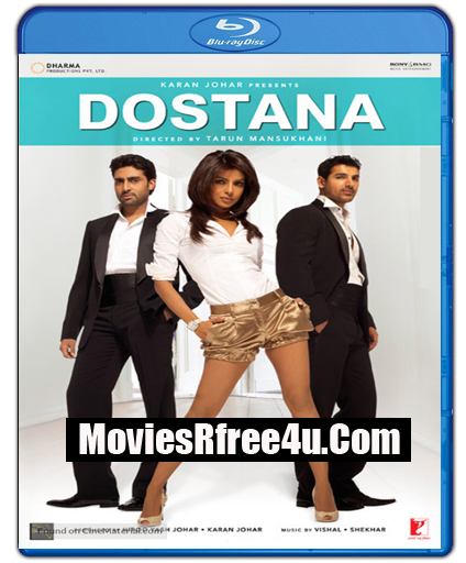 Dostana 2008 BRRip 160MB x265 HEVC For Mobile