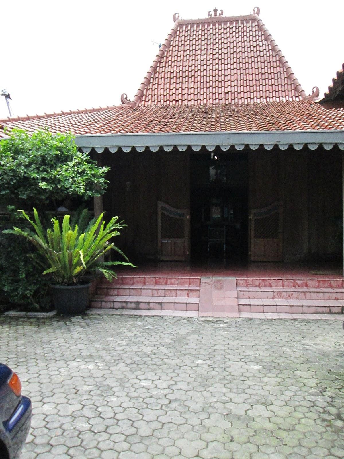 Menakjubkan Rumah Tradisional Jawa Tengah
