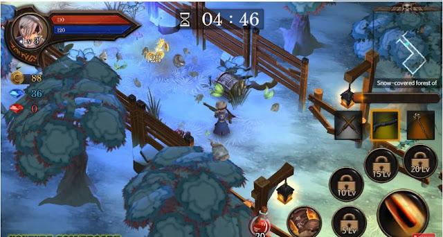 Game Petualangan Android Offline Ringan Dungeon Chronicle APK