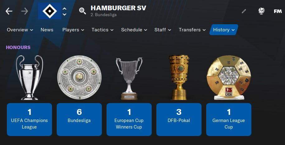 Hamburg SV Football Manager 2021