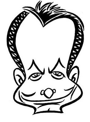 Caricatura De Presidente Jose Rodriguez Zapatero 4 Dibujo