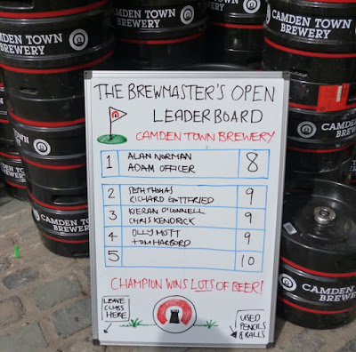 The Brewmaster's Open at the Camden Town Brewery in London