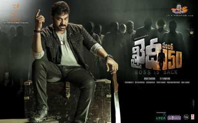 Khaidi No. 150 (2017) Hindi - Telugu Dual Audio 400MB Full Movie WEBHD