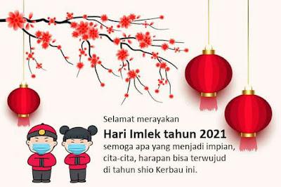 kata ucapan tahun baru imlek 2021