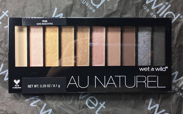 wet n wild au naturel eyeshadow pallet