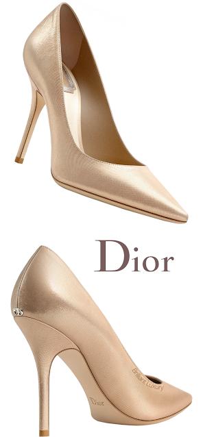 Golden Dior Pumps #brilliantluxury