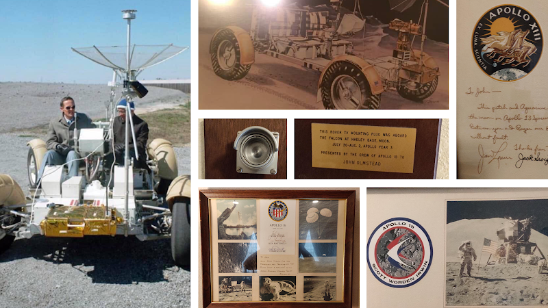 John Olmsted and the Lunar Roving Vehicle
