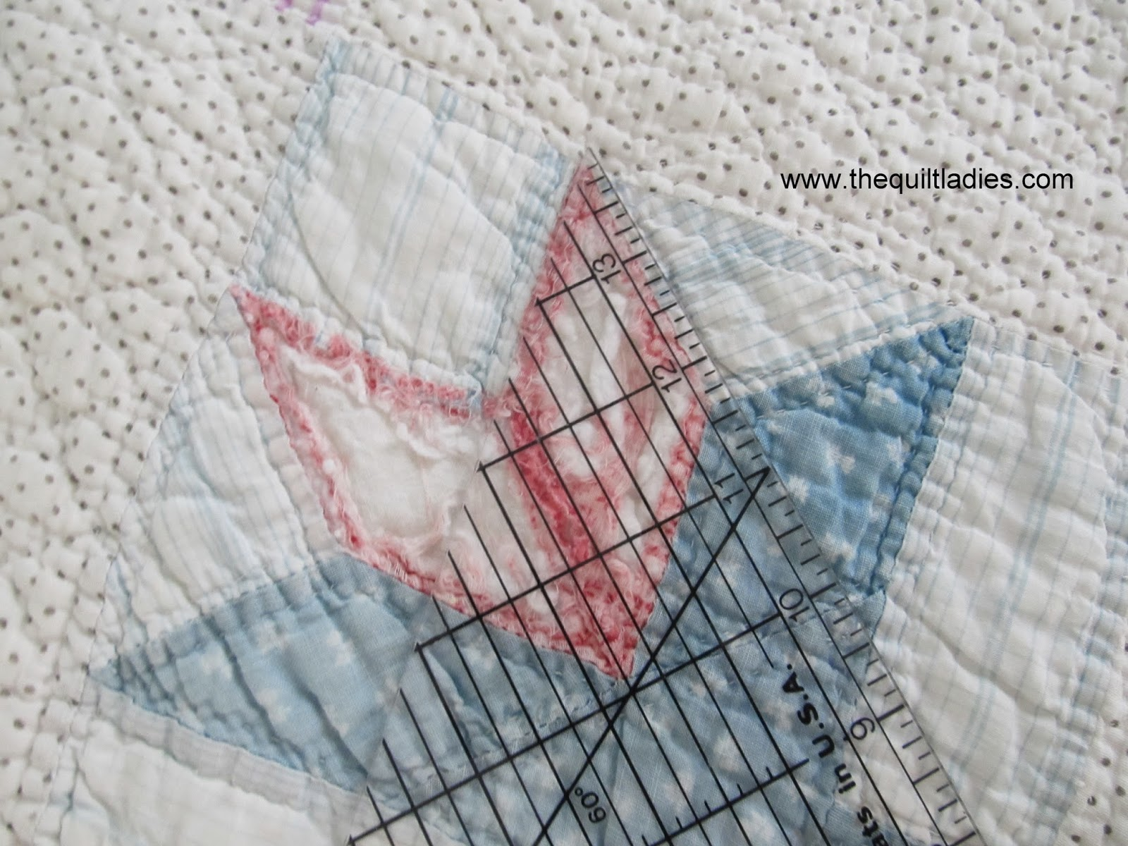 mending an old quilt how to