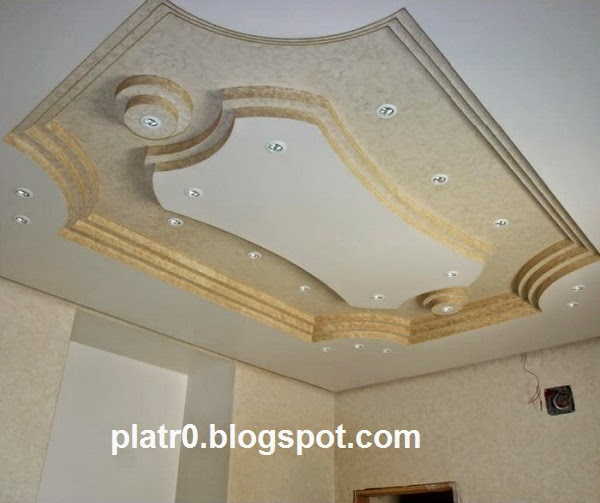 Decoration Platre Marocain: Decor Faux Plafond Marocain Avec Spot 2015