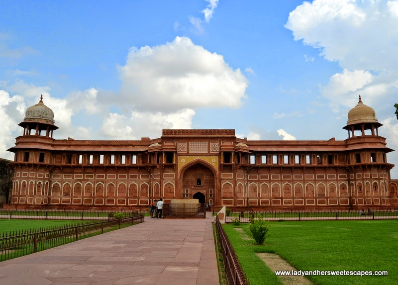 Jahangiri Mahal at Agra Fort