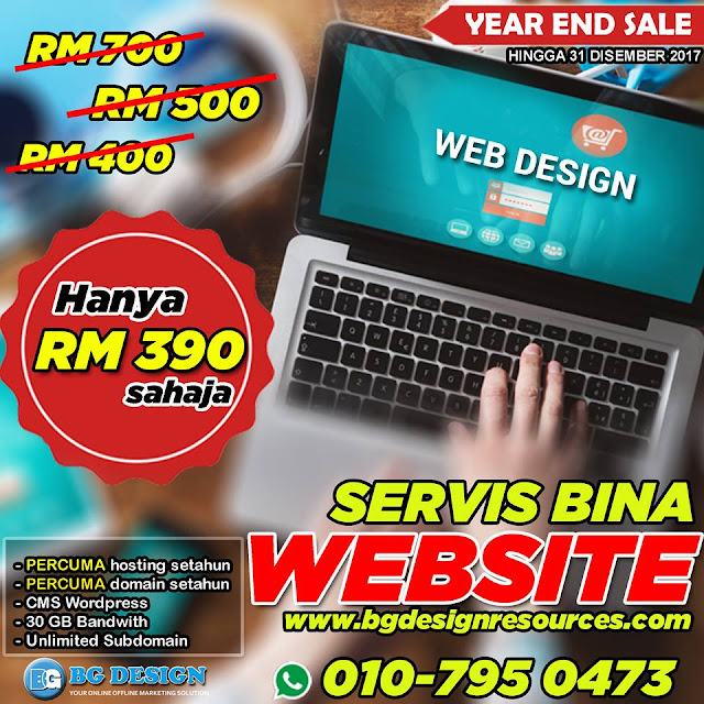 Promosi Bina atau Upgrade Website Termurah