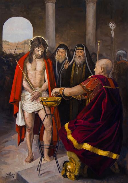 I Estação da Via-Sacra - Jesus Cristo é condenado à morte