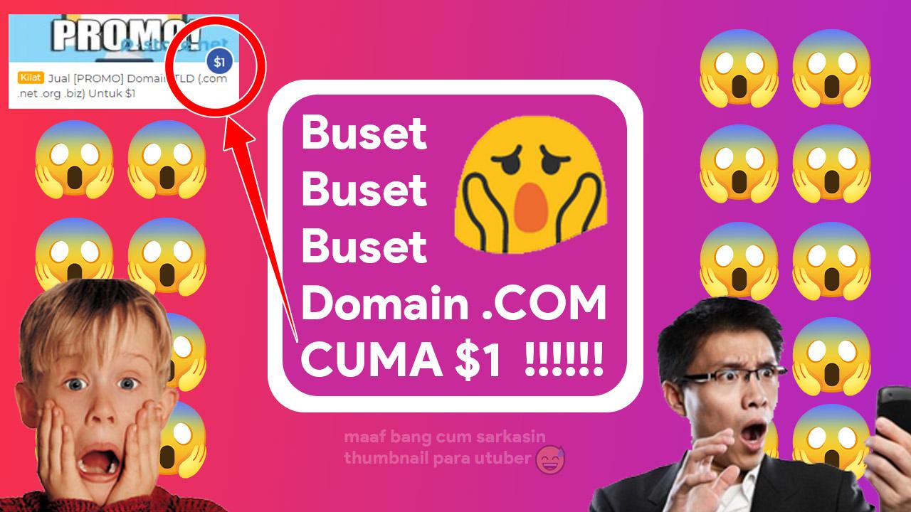 domain com $1