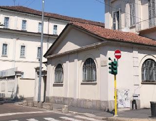 """The Scuola Militare """"Teulie"""" is in Corso Italia in Milan"""