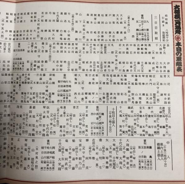 の 大相撲 取組 表 今日