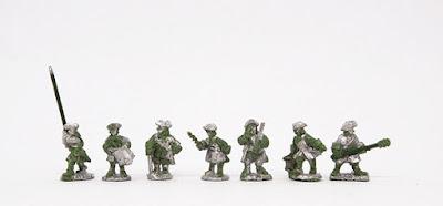 Command x 3 / Artillery crew x 4