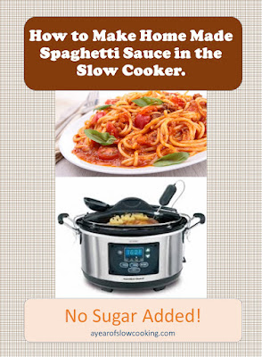 This is the easiest way to make spaghetti sauce I've tried. You can cook the meat directly in the sauce if you'd like, and there's even an option of how to cook the noodles directly in the pot. Instructions for using both fresh and canned tomatoes!