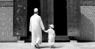 Anak kecil ke Mesjid
