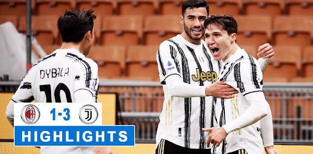 Milan vs Juventus – Highlights