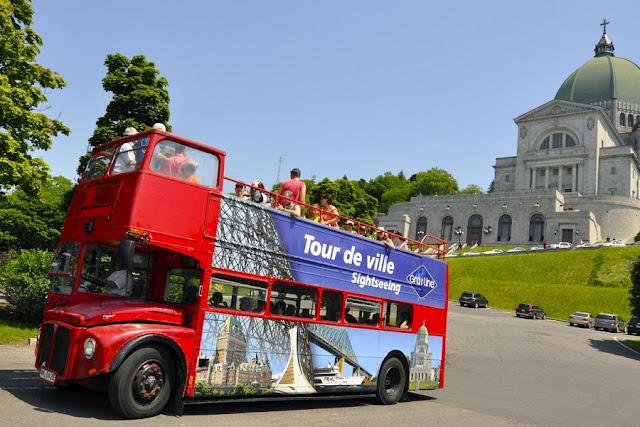 Passeio de ônibus turístico em Montreal