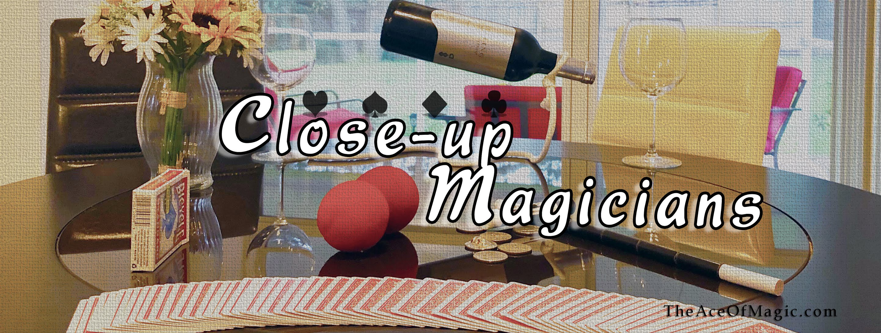 Close-up Magicians / Strolling Magician