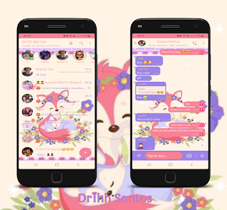 Baby Fox Theme For YOWhatsApp & Fouad WhatsApp By Driih Santos