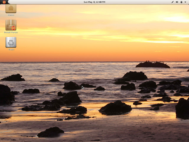 Parsix GNOME Desktop - First impression