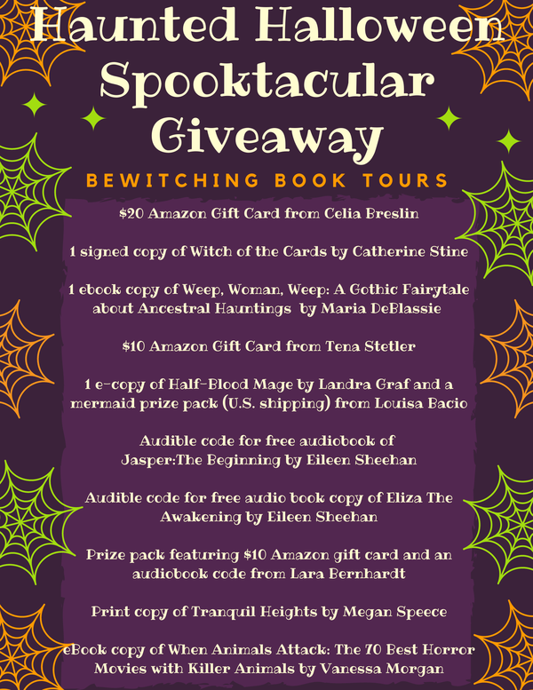 halloween book tour giveaway