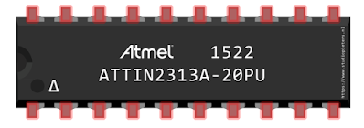 Download File ATtiny2313 Fritzing Part
