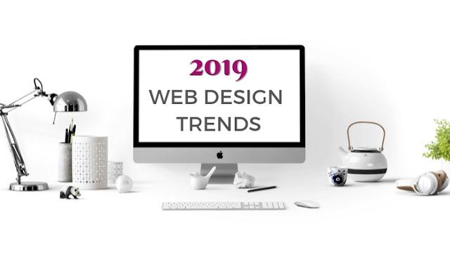 Website style designs trending in 2019