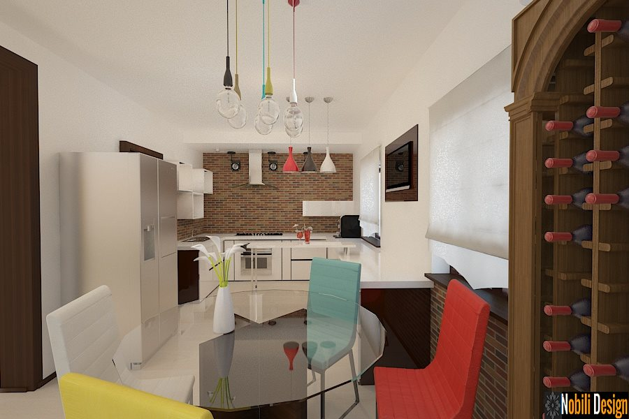 Design interior bucatarie casa Brasov - Design interior vila Brasov