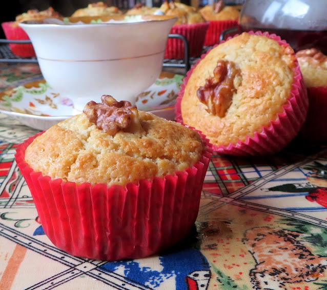 Maple Walnut Muffins
