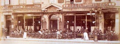 Fachada del Café de la Régence