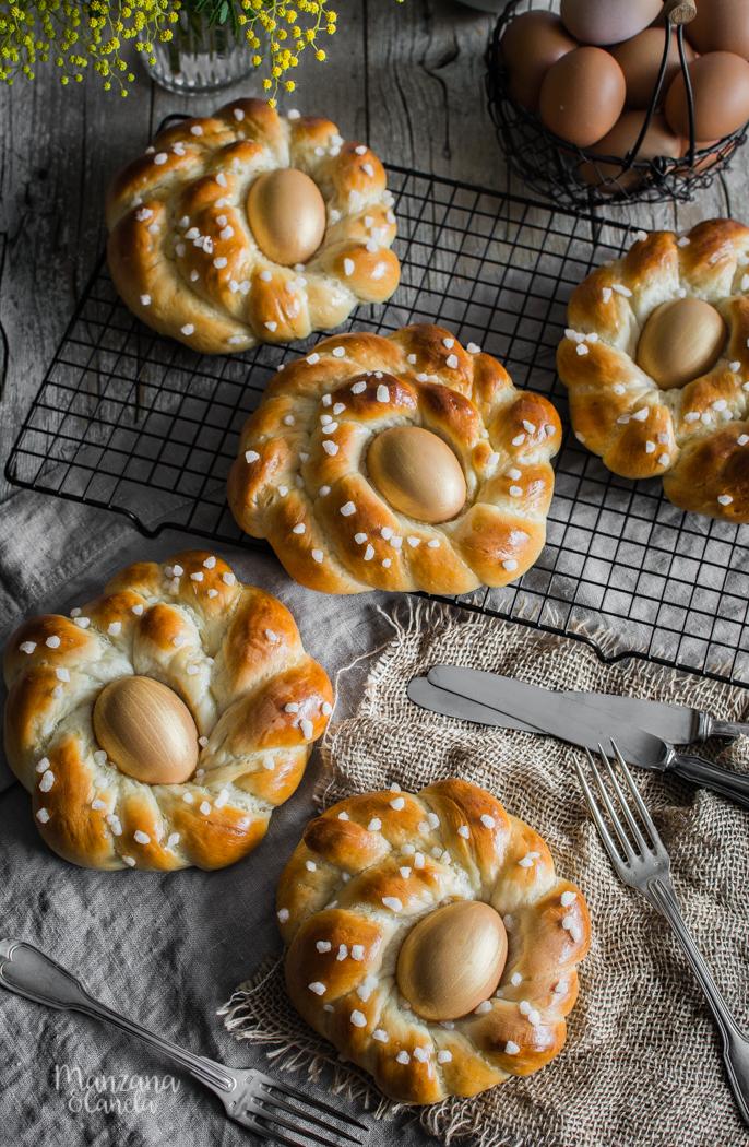Pan italiano de Pascua. Receta paso a paso.