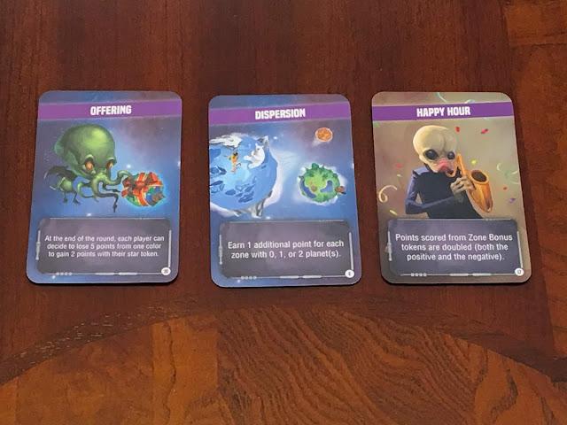 Kaos cards for Kaosmos (Cosmic Factory) board game by Kane Klenko