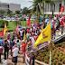 Servidores estaduais fazem manifestação por pagamento de salários atrasados