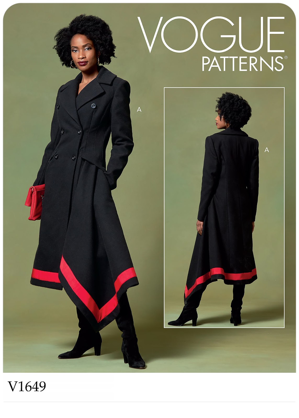 Vogue Patterns 1649 - #V1649