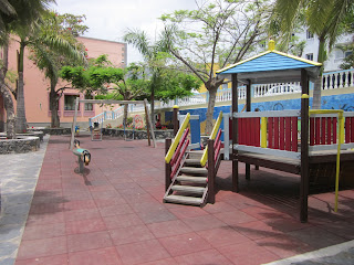 Children's playground Tazacorte