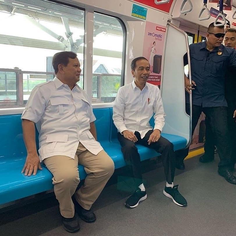 Prabowo Ketemu Jokowi, UYM: Saya Girang Banget