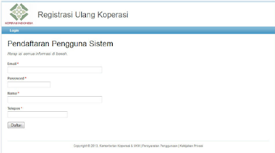 Pendaftaran-Pengguna-Sistem