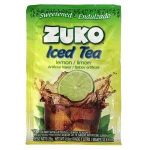 Bột Gói Trà Chanh Zuko Iced Tea Lemon Flavor Drink Mix Đồ Mỹ Xách Tay
