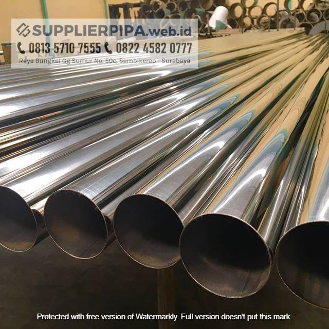 Jual Pipa Stainless Steel Kualitas Sni 1 Banjarmasin Supplier Pipa