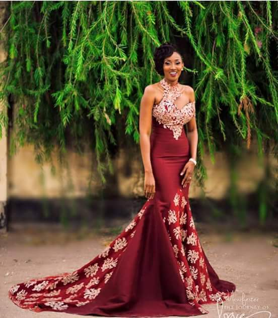 Tanzanian Model Gyver Meena\'s Send-Off party dress | M.P Blog