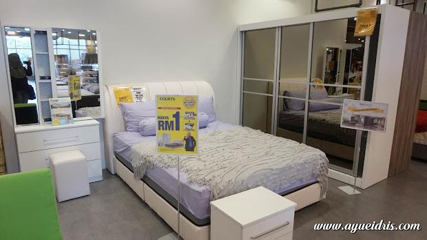 Set Bilik Tidur Moden